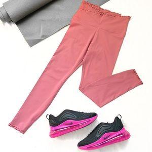 Nike Drifit Yoga Luxe High Rise Ruffle Wrap Tights